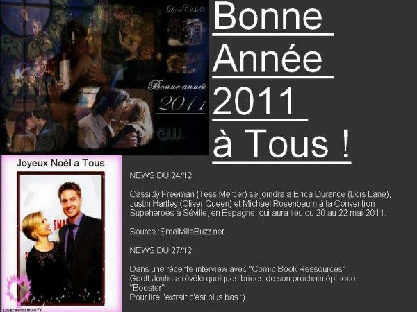 Bonne Année 2011 ^^
