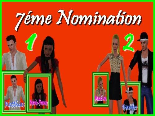 Résultats des nominations