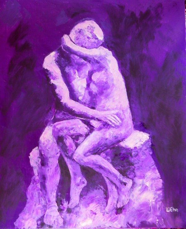 """"""" le Baiser"""" de Rodin"""