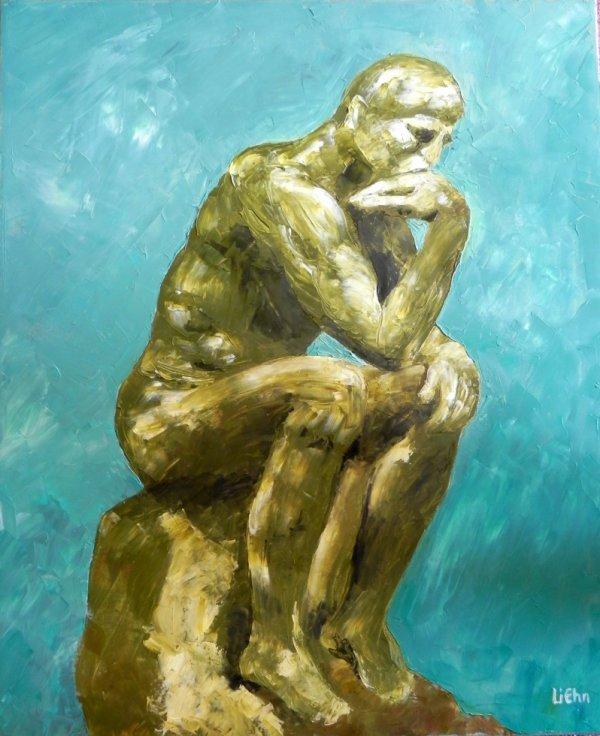 """""""le Penseur"""" de Rodin"""