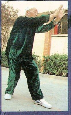 Shuang Ba technique de tigre avec deux paumes de Henan Xin Yi Liu He Quan par Lü Rui Fang(1908-1999) à l'âge de 86 ans.