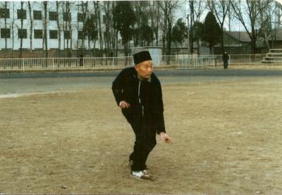 L'éxpert musulman de Henan Xin Yi liu he quan qui a hérité du modéle lignées de Mai Zhungtu et Mai Sanyuan. Marche du dragon 1) ligne droite 2) en cercle ( voir dernière page) proche de la marche de Ba Gua