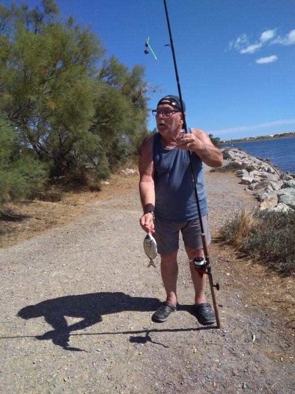 Hervé à la pêche