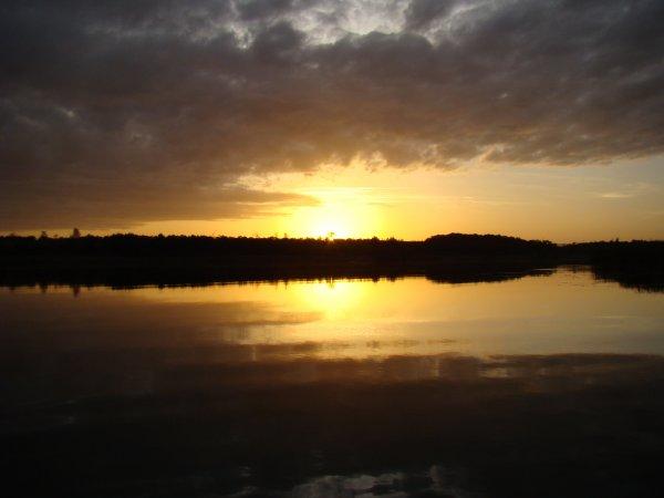 Nuit de rêve en lac
