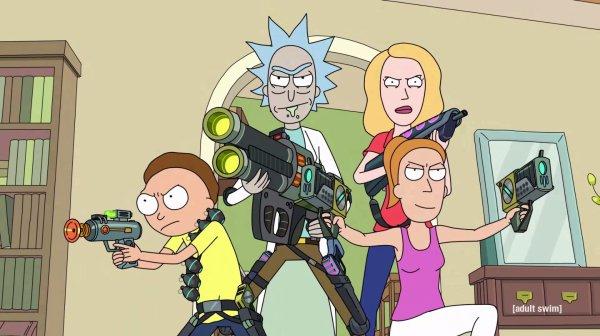 Rick et Morty.