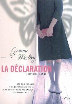 La Déclaration T1 de Gemma Malley
