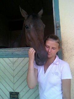 Priscillia au Cadre Noir de Saumur