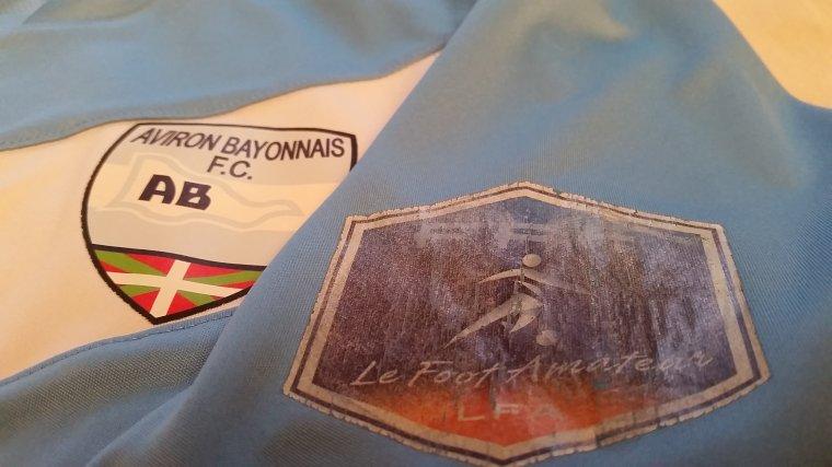 Maillot porté de l'Aviron Bayonnais en National en 2011/2012