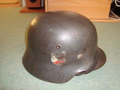 nouvelle rentré casque allemand double insigne