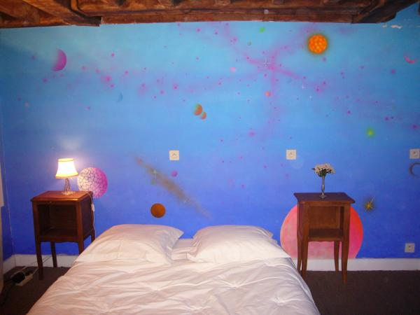"CHAMBRE / BEDROOM / CAMERA / SCHLAFZIMMER / ALCOBA/ Комната: ""MARS & VENUS"""