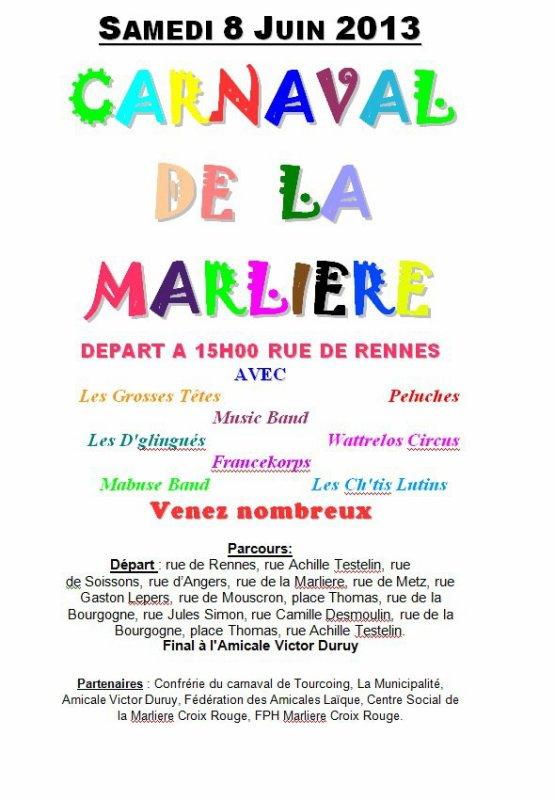 Carnaval de la Marlière Tourcoing
