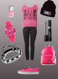 tenue rose