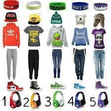 5 tenues swagies