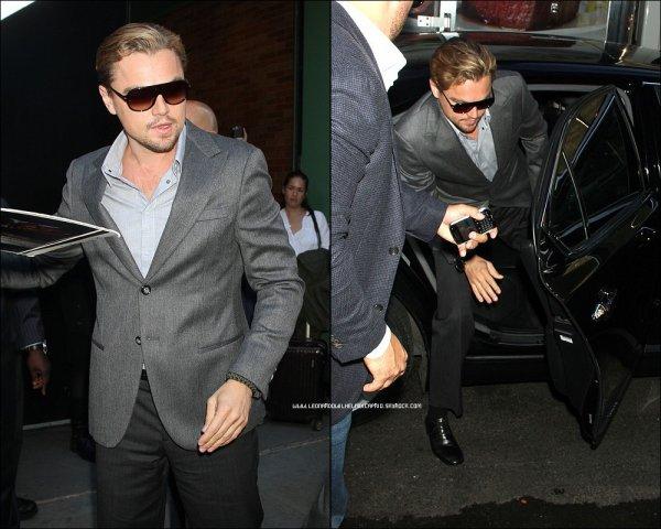 """07 novembre 2011 : Leonardo DiCaprio parle de son rôle dans """"J. Edgar"""" sur la chaîne ABC """"Good Morning America."""""""