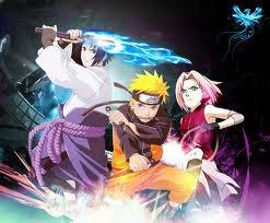 Sasuke Naruto & Sakura
