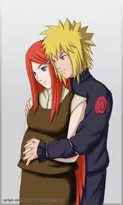 minato et kushina -> le plus beau couple =)