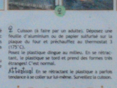 Explication du Plastique Dingue
