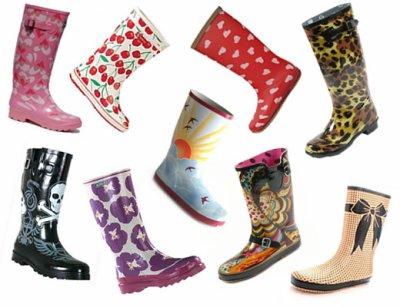 la pluie arrive et les bottes aussi