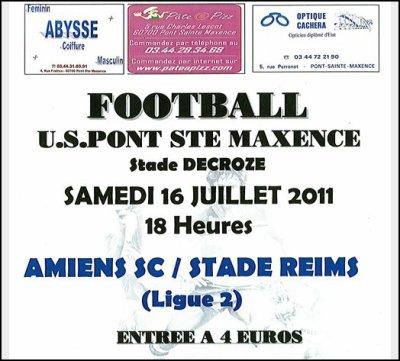 2011 Amical : REIMS AMIENS 0-0 , le 16 juillet 2011