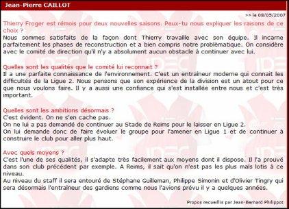2011 Reims  Fournier prolongé ???  , le 10 novembre 2011