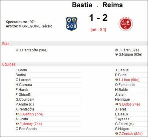 2007 Ligue 2 J37 BASTIA REIMS 1-2, le 12 mai 2008