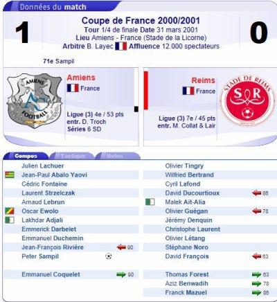 2000 CDF04 AMIENS REIMS 1-0, le 31 mars 2001