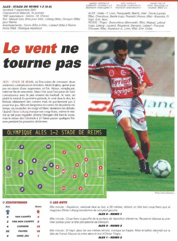 2001 NAT J07  ALES REIMS 1-2, le 7 septembre 2001