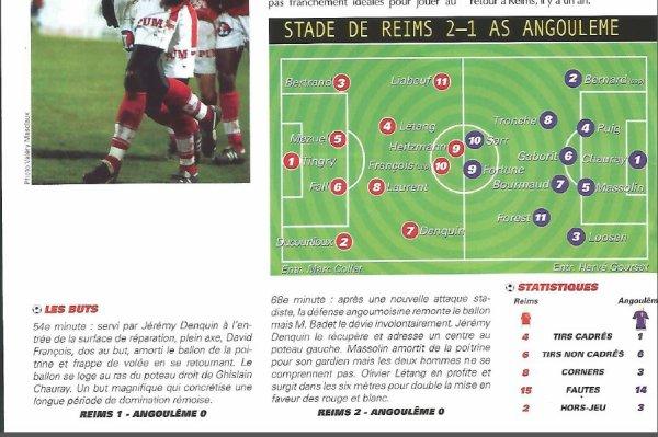 2001 NAT J19 REIMS ANGOULEME 2-1, le 21 décembre 2001
