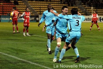 2008 Ligue 2 J18 TOURS REIMS 2-1, le 19 décembre 2008