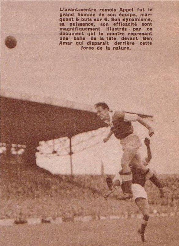 1949 CDF Demi Finale , REIMS TROYES 6-2, le 16 avril 1950