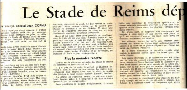 1978 : Reims, le réglement judiciaire , le 29 décembre 1978