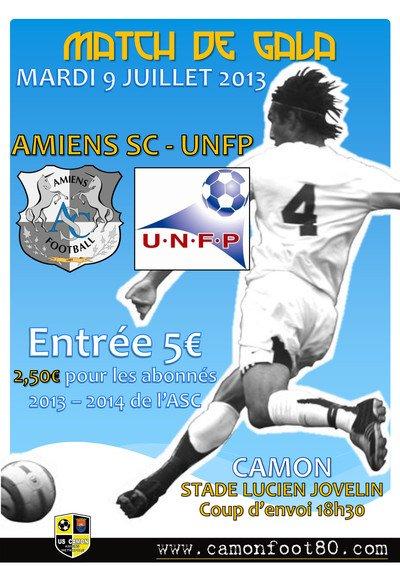 2013 Ex Rémois : Stage  UNFP , Le match 2 , le 9 juillet 2013