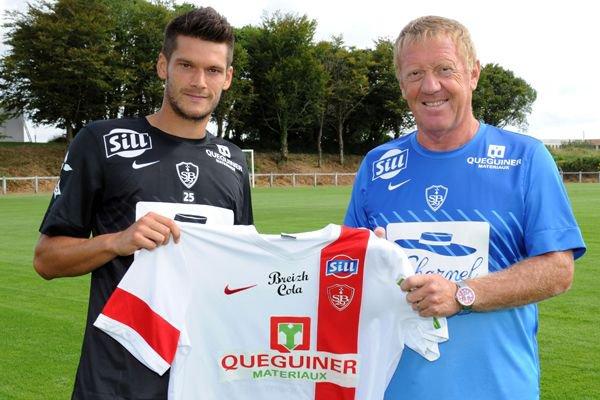 2013 Ex Rémois : Ramaré signe à Brest, le 26 juillet 2013