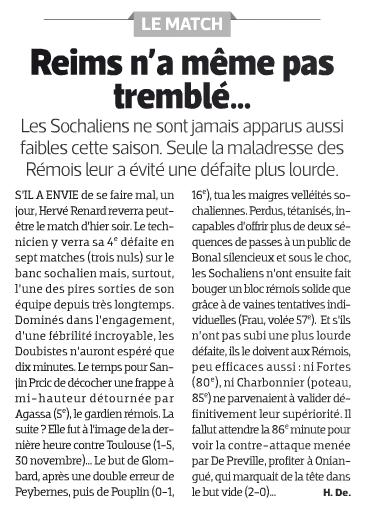 2013 Ligue 1 J16 SOCHAUX REIMS 0-2, le 04/12/2013