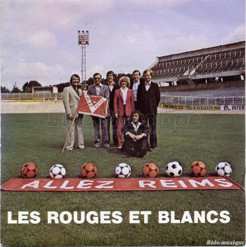 1978 REIMS : Chanson ALLEZ LES ROUGE ET BLANC, le 30/06/1978