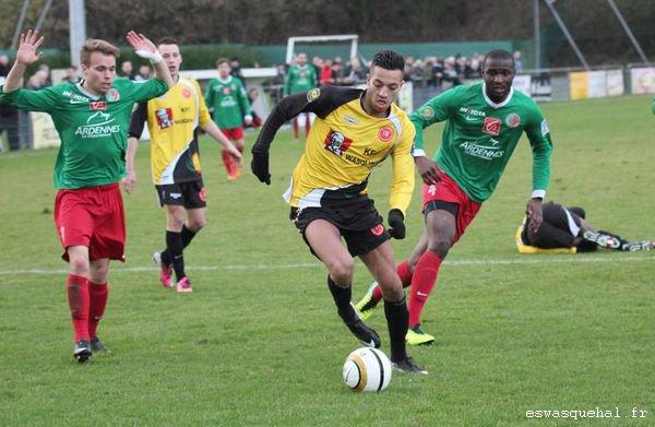 2013 CFA2 J08 (match en retard ) WASQUEHAL SEDAN 1-3, le 19/01/2014