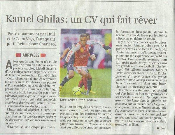 2013 Mercato : GHILAS, un Fennec chez les zèbres, le 30/01/2014