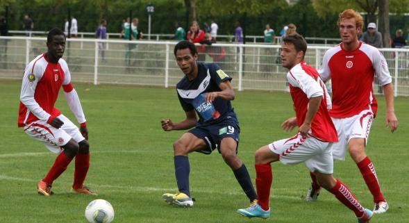 2013 CFA2 J15 REIMS B WASQUEHAL , l'avant match 1er Février 2014