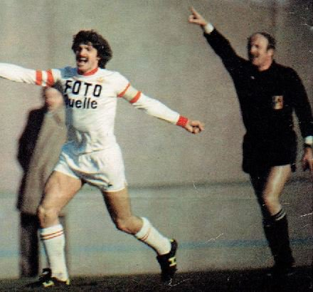 1976 D1 J23 REIMS NANCY 3-3, le 30 janvier 1977