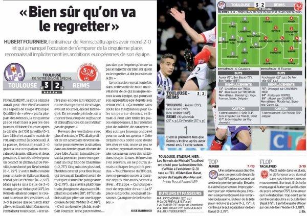 2013 Ligue 1 J28 TOULOUSE REIMS 3-2 ,le 8 mars 2014
