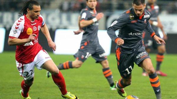 2013 Ligue 1 J31 REIMS LORIENT 1-1,  29/03/2014