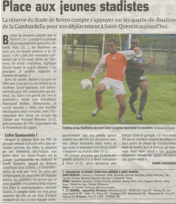 2013 CFA2 J22 SAINT QUENTIN REIMS B  0-0, le 12/04/2014