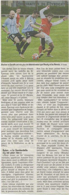 2013 CFA2 J23 EPERNAY REIMS B 2-1, le 26/04/2014