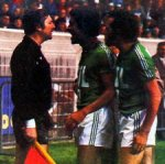 1976 CDF FINALE REIMS SAINT ETIENNE 1-2, le 18 juin 1977