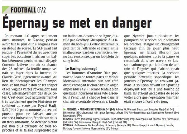 2013 CFA2  J25 FEIGNIES EPERNAY 3-1, le 17/05/2014