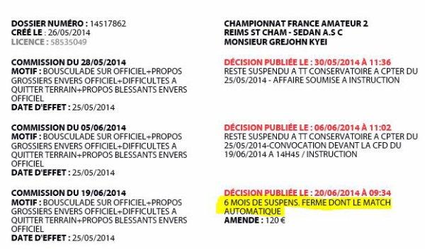 2014 REIMS : Kyei au piquet, le 20/06/2014