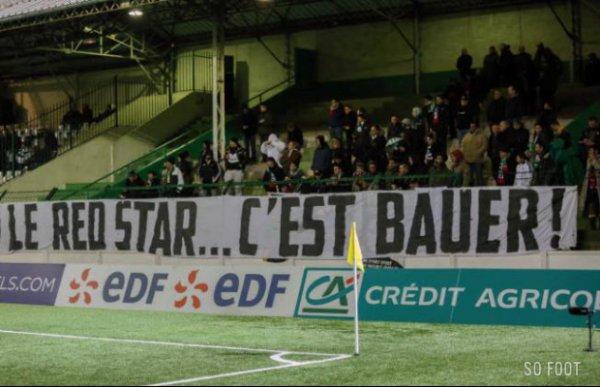 2014 CDF : Le RED STAR à Jean Bouin : Duel de VERTS , le 29/01/2015