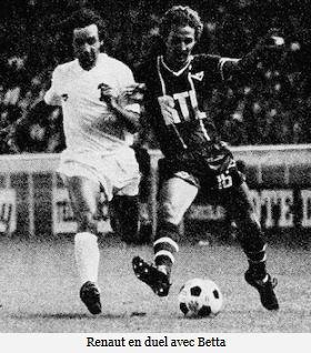 1977 D1 J02 PSG REIMS 2-2, le 09/08/1977