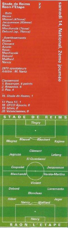 1999 NAT J02 REIMS RAON l' ETAPE  2-2, le 13/08/1999