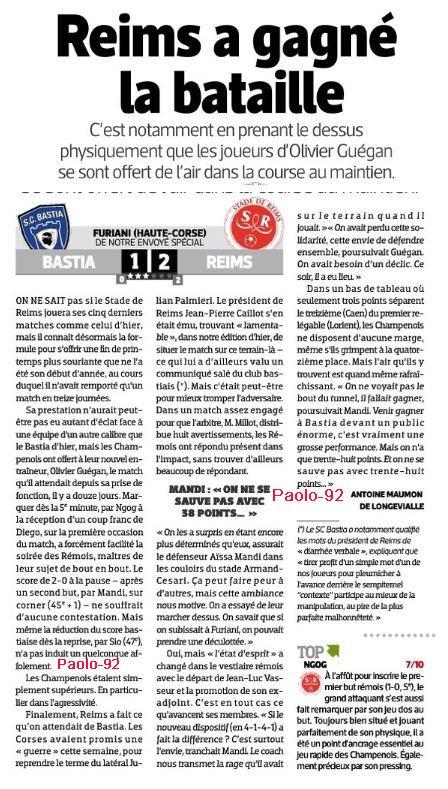 2014 Ligue 1 J33 BASTIA REIMS 1-2, le 19/04/2015